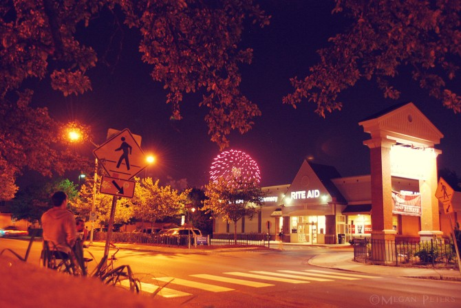 Fireworks over RiteAid 2